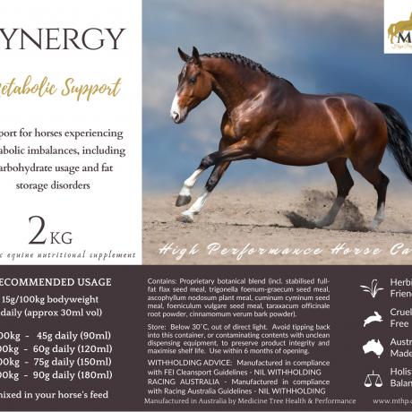 Cynergy Bag Label 2kg